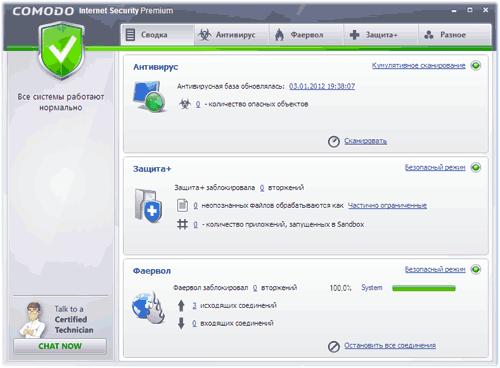 comodo internet security скачать бесплатно