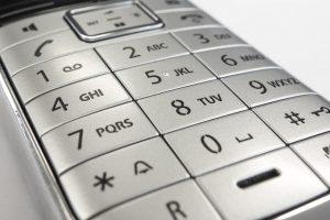 клавиатура телефона