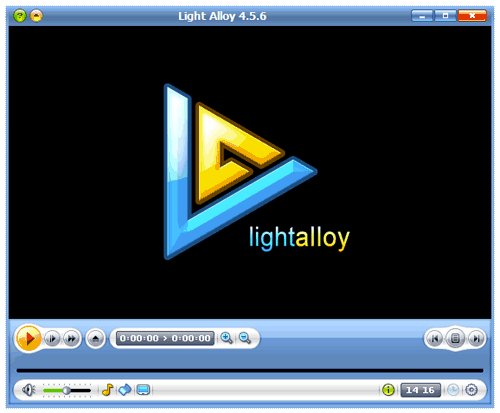 Проигрыватель Light Alloy русская версия
